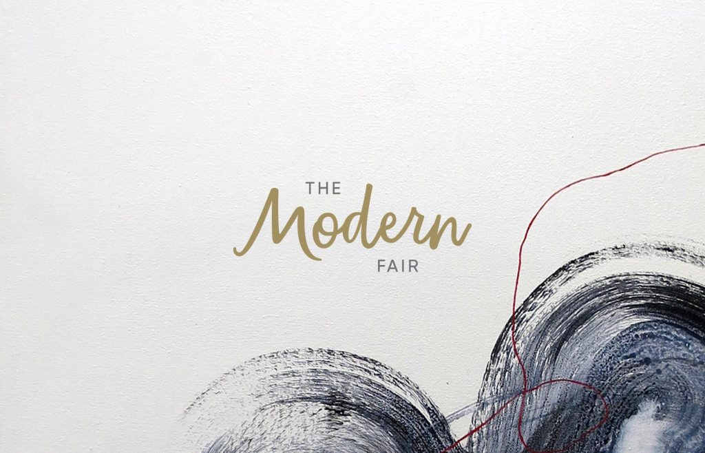 The Modern Fair primary logo design and branding by Lisa Furze