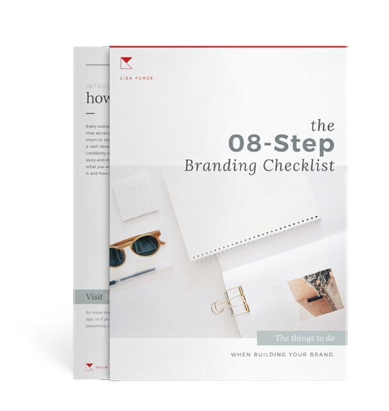 A free branding checklist so you can make sure you've got all the essential brand elements covered