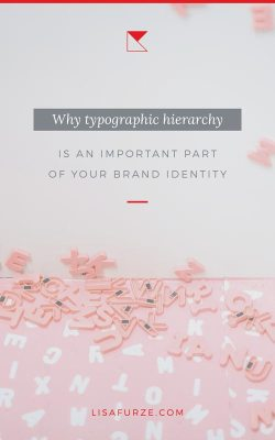 How to set up a good typographic hierarchy for your brand identity and improve the readability of your site.