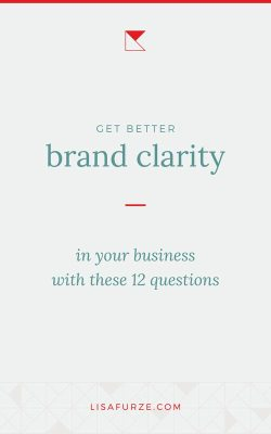Here are 12 simple but powerful questions for brand clarity to lead you to a stronger understanding of how to describe and implement your branding.