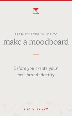 Here's how to create a moodboard as the first step when it comes to designing a new brand identity for your business.