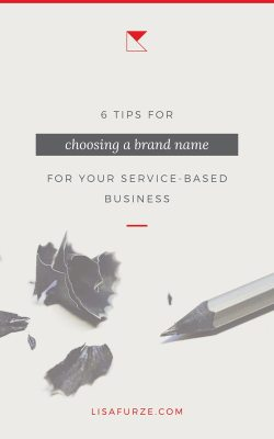 If you're choosing a brand name for a new business, check out these 6 useful tips.