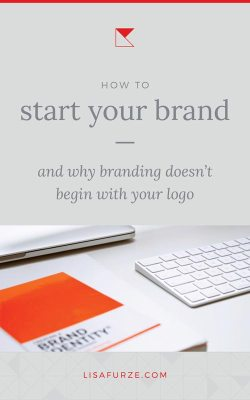 Here's why your logo is not your brand and the proper way to start branding your business.