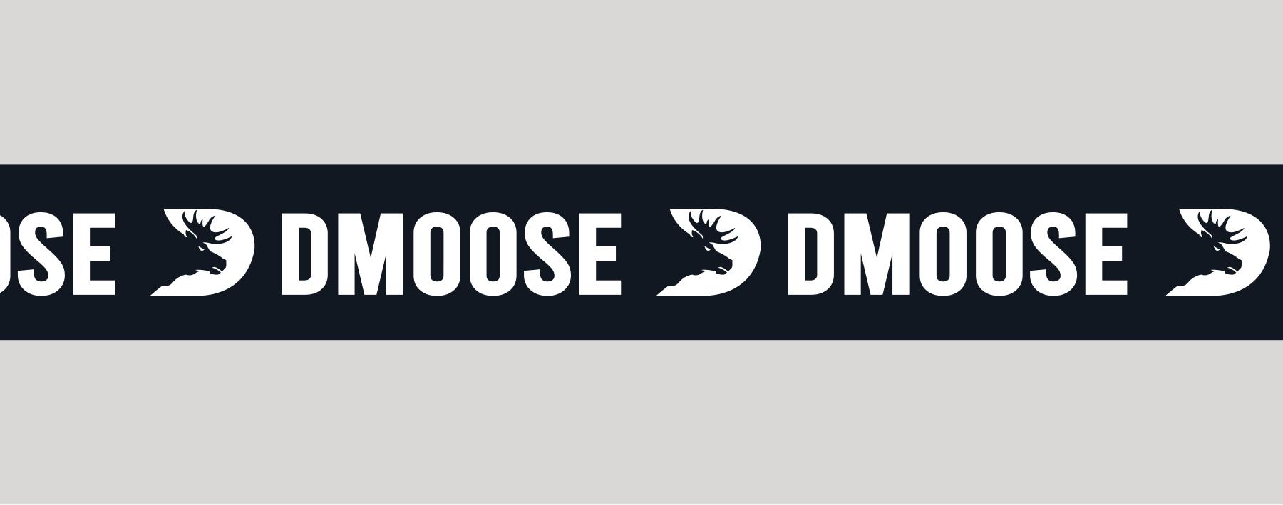 DMoose logo banner