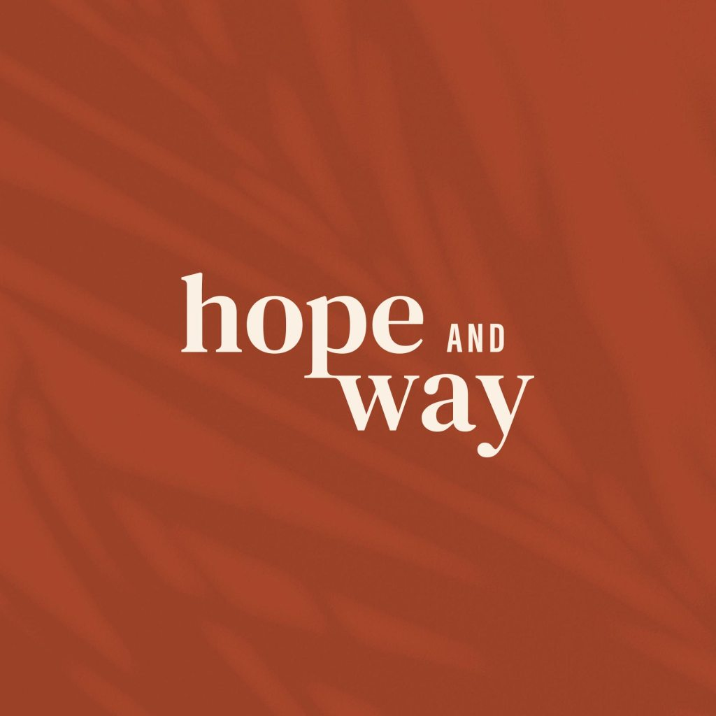 Hope and Way primary logo design