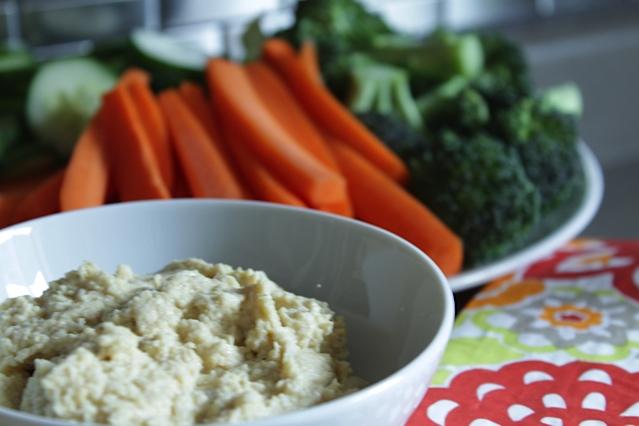 Garden Vegetable Hummus
