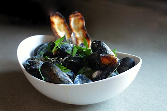 healthy mussels dijonnaise