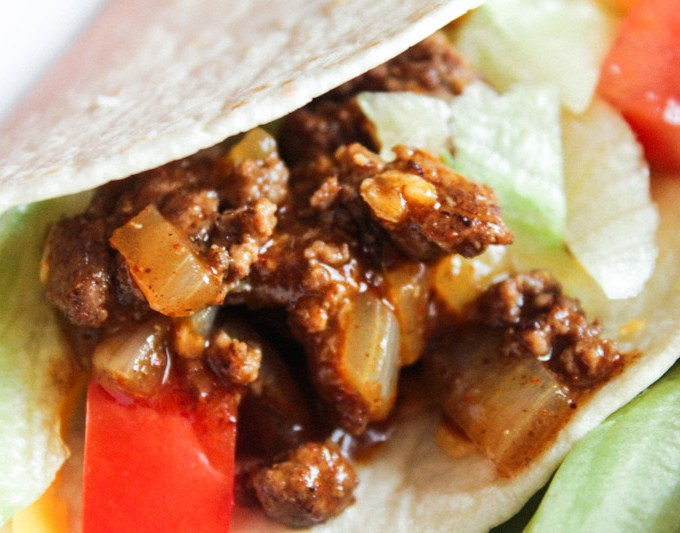 Soft Beef Tacos