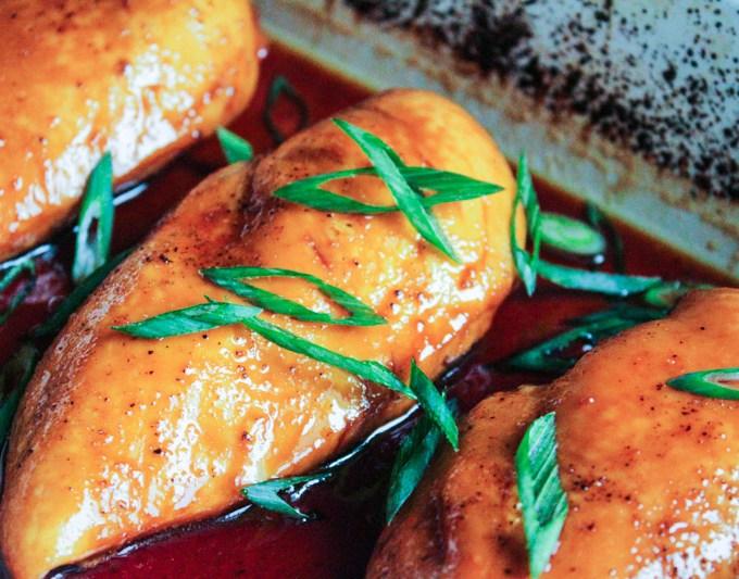 Sticky Asian (Baked) Chicken