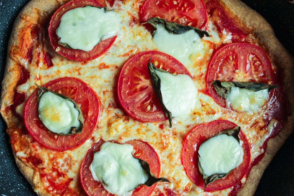 Caprese Pan Pizza