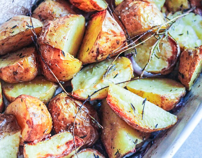 Autumn Harvest Roasted Potatoes