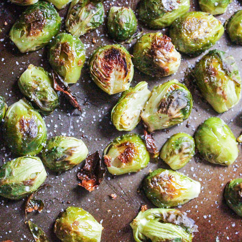 Roasted Brussels Sprouts-3