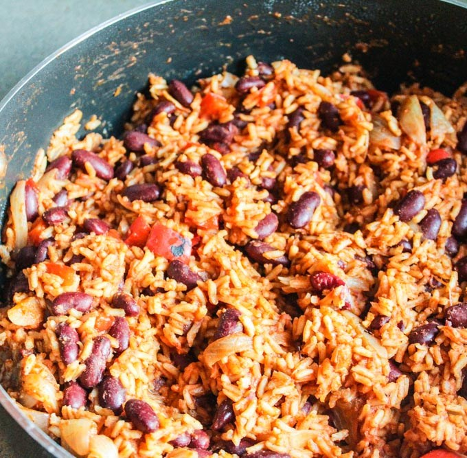 Mexican Red-Beans with Rice