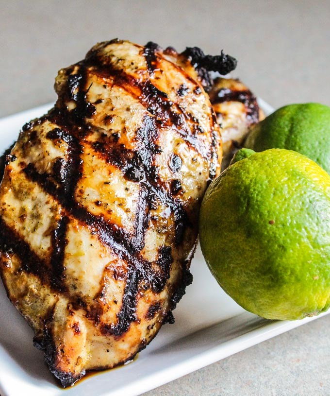 Honey-Lime Marinated Grilled Chicken