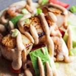 Shrimp and Scallop Soft Tacos