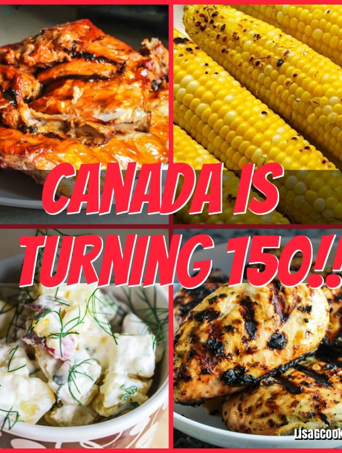 Canada is Turning 150 (BBQ Menu)