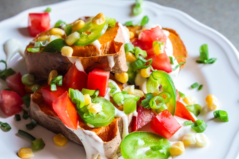Spicy Southwest Sweet Potato Bites - LisaGCooks.com