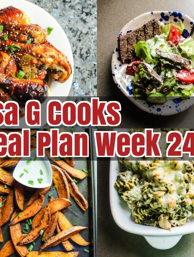 Meal Plan Week 24