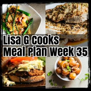 Weekly Meal Plan I LisaGCooks.com