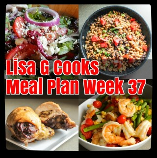 Weekly Meal Plan I LisaGCooks.com