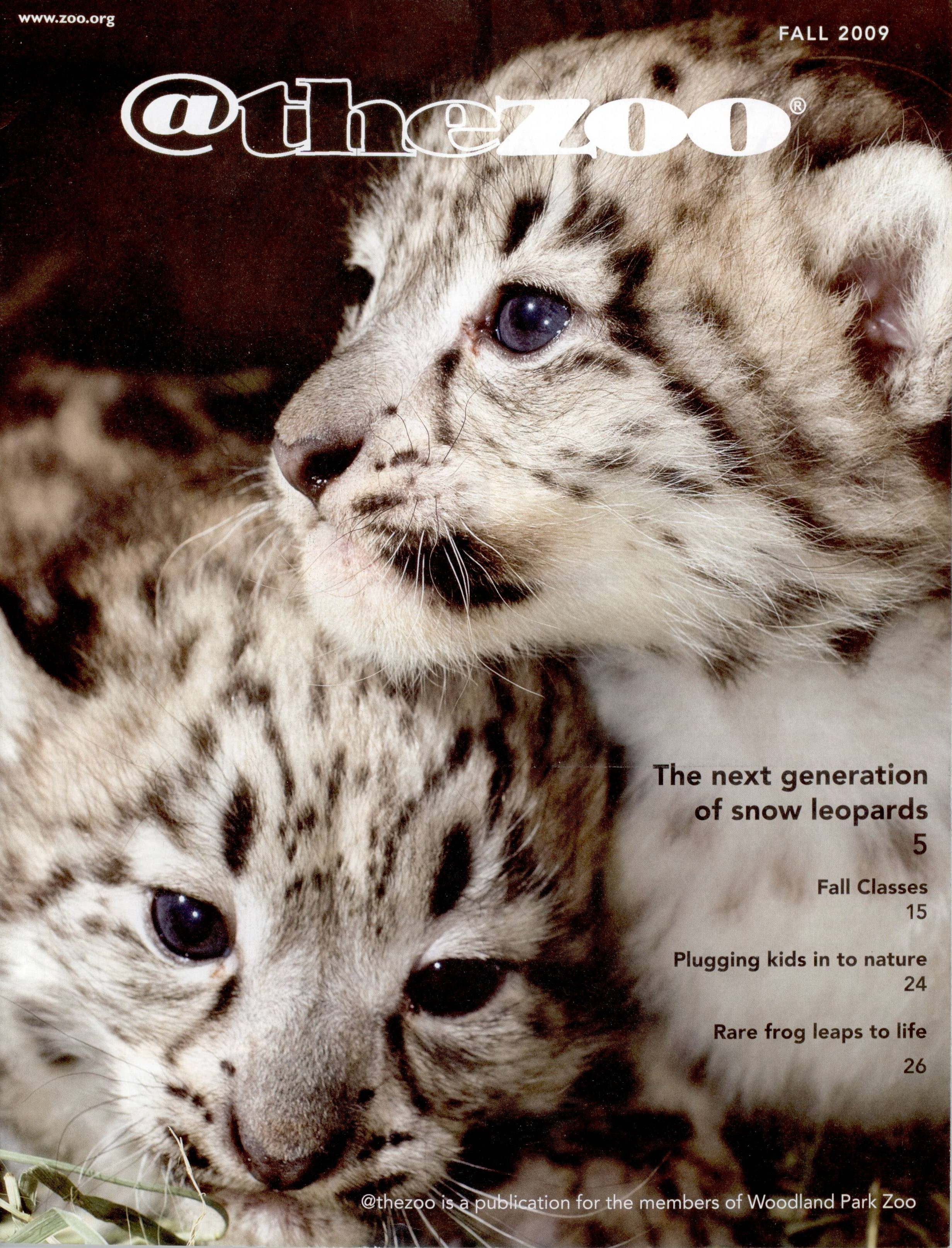snow leopard cover