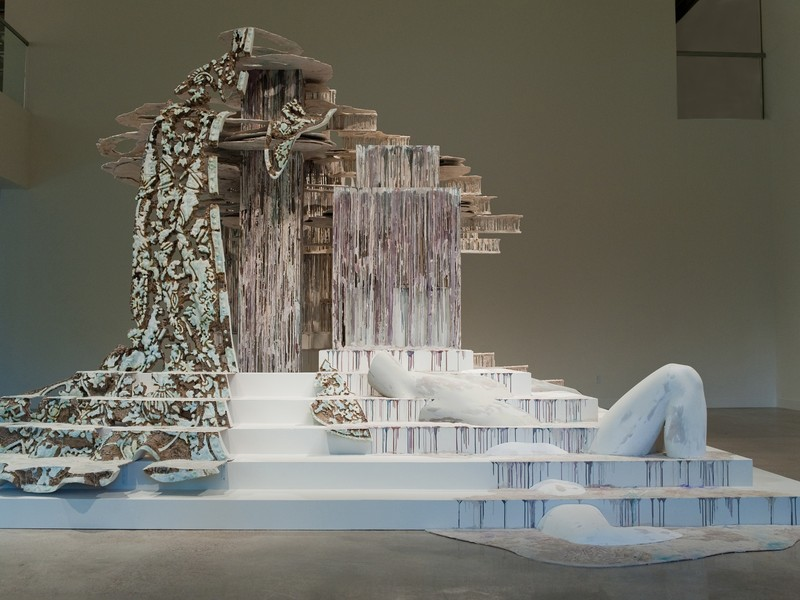 """Diana Al-Hadid's """"Suspended After Image"""""""