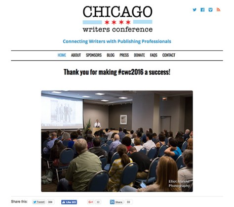 Chicago Writers Conference
