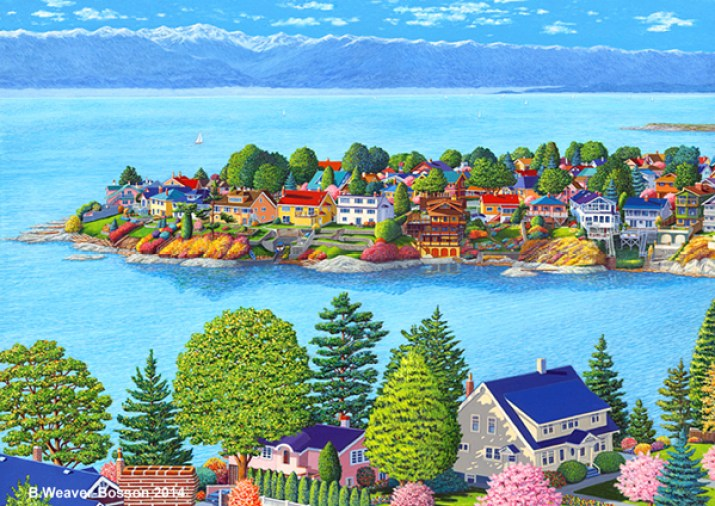 GONZALES BAY REVISITED EM painting by Barbara Weaver-Bosson.jpg