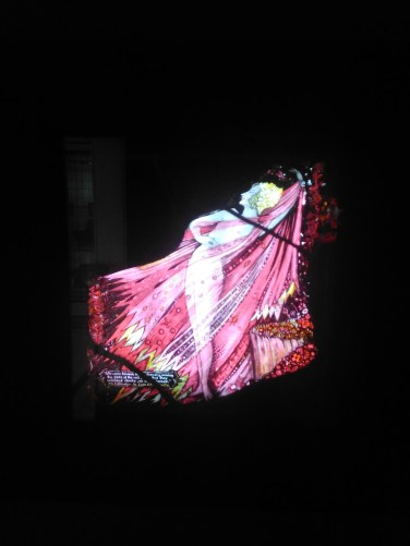 Stained glass panel from Harry Clarke's 'Eve of St Agnes'