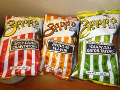 I love Zappo chips!