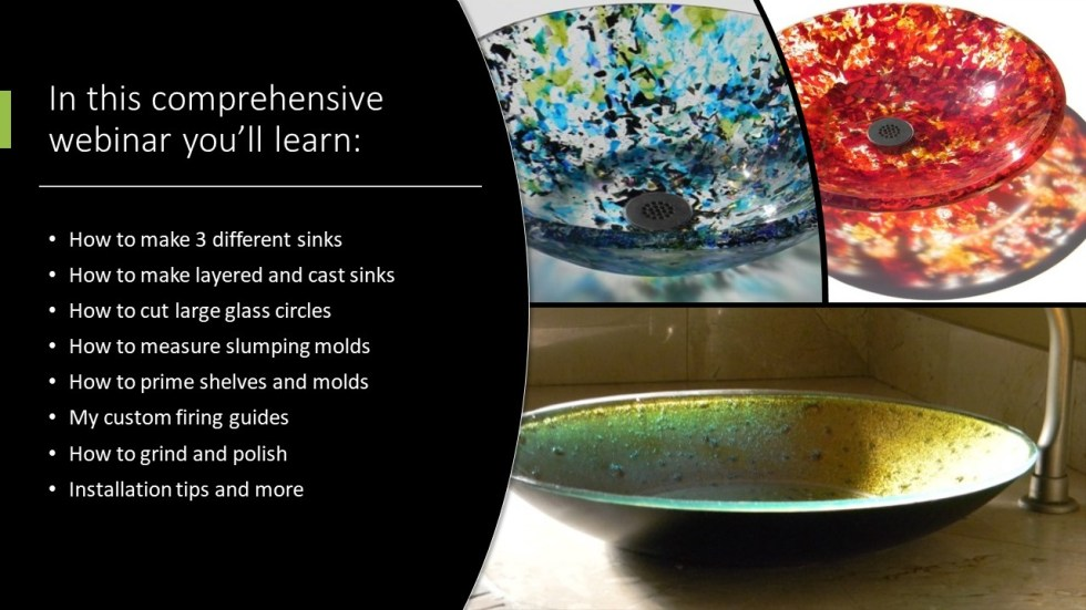 Make a Fused Glass Sink Webinar August 2020
