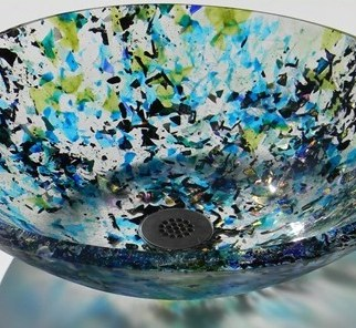 Galaxy Sink by Lisa Vogt