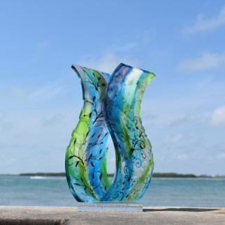 Wonderous as seen In Sculptural Fused Glass with Lisa Vogt