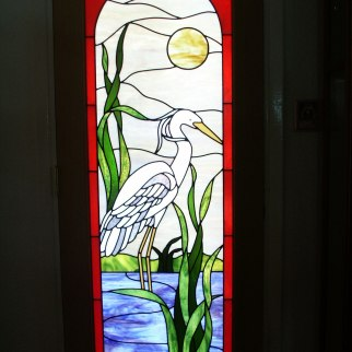 Leaded Glass by Lisa J Vogt