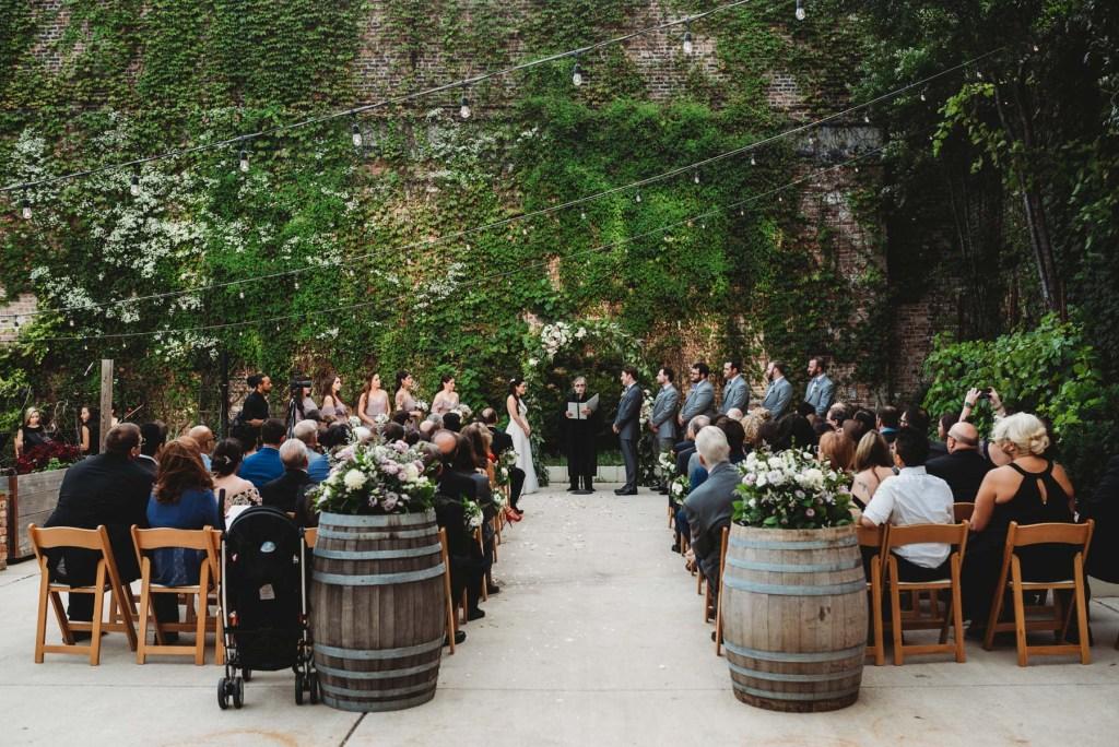 City Winery Chicago Wedding Cassie Dan Lisa Kay