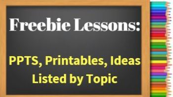 Permalink to: Lessons By Topic