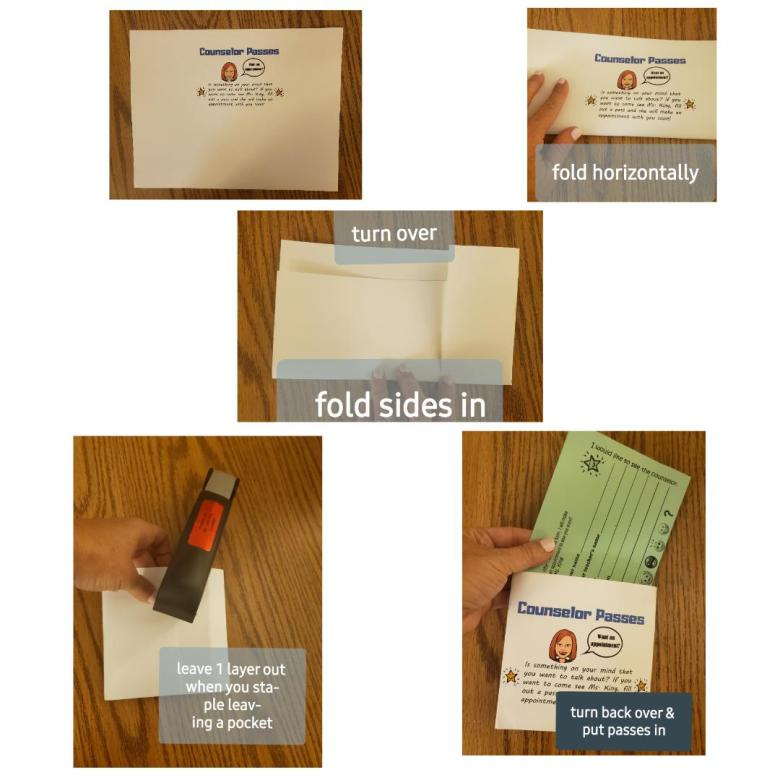 counselor passes, school counselor appointments, pass holder
