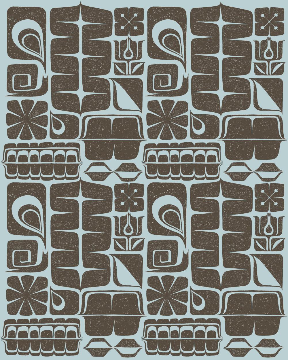 Lisa Lounge GeoTribal Repeat Pattern