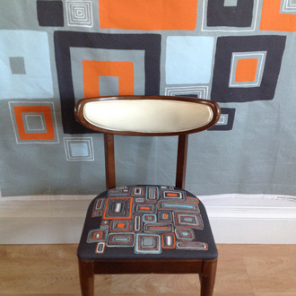 Eclectic Geometric Chair