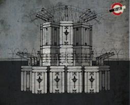 """Sticklebrick Sentry Post"" Concept Design"