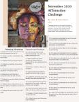 November 2020 Affirmations Challenge