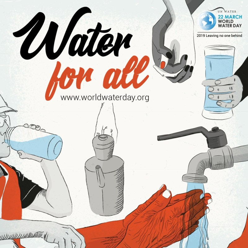 Water for all. www.worldwaterday.org
