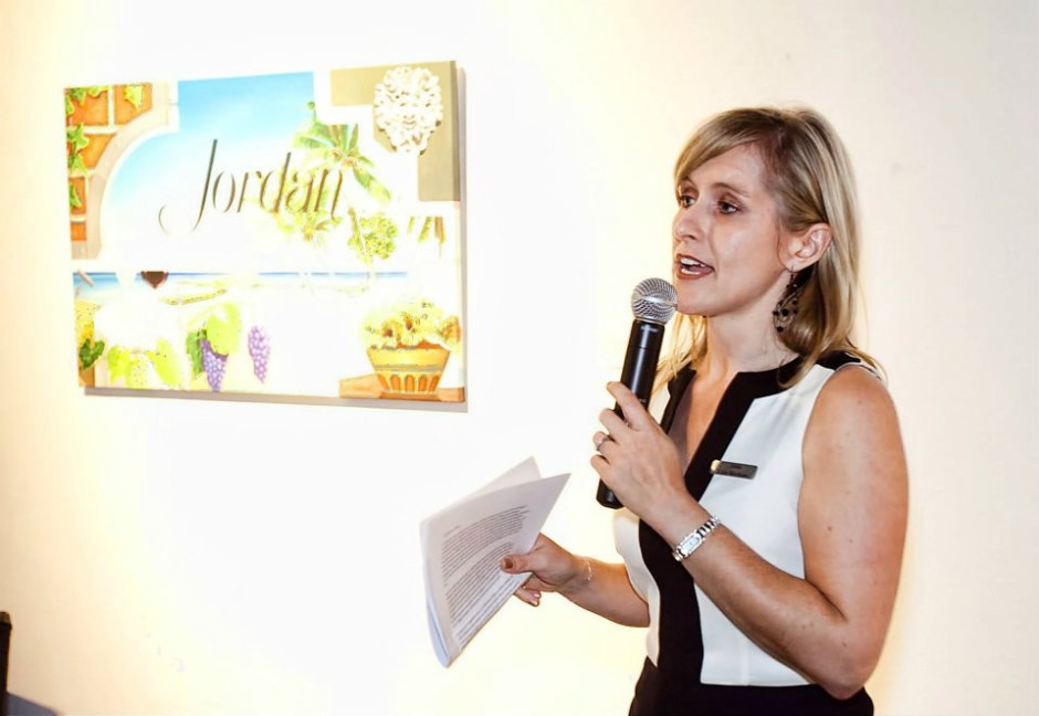 Lisa Mattson Jordan Winery event speaking BAC Miami