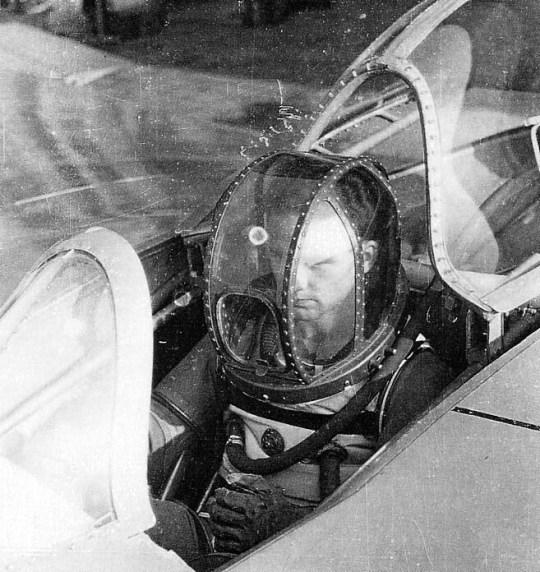 pilot in stealth bomber