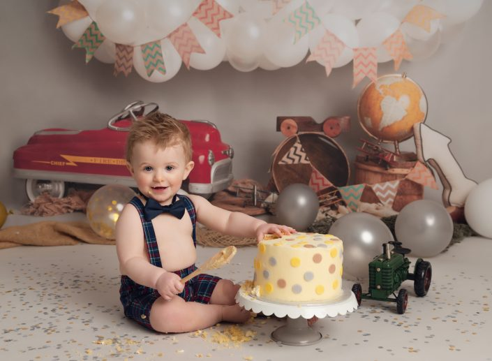 Cake Smash photographer - Sunderland Tyne & Wear - Gateshead South Shields