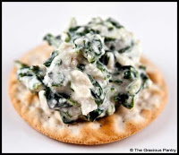 Clean Eating Spinach Dip