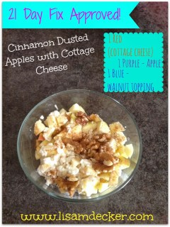 21 Day Fix snack, healthy snack
