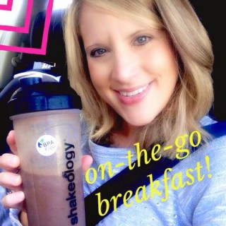 Shakeology, Healthy Breakfast, On the go breakfast