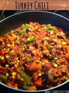 clean eating, turkey chili