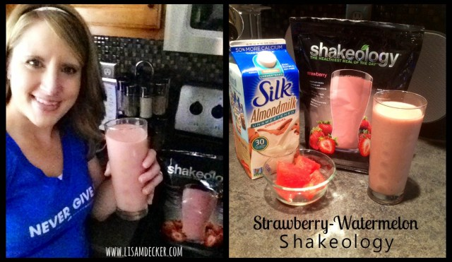 Strawberry Shakeology Recipe, Strawberry Watermelon Shakeology, Shakeology